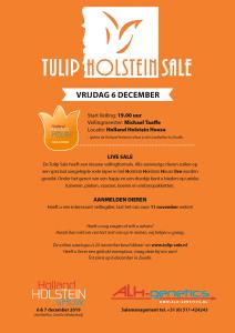 Tulip Holstein Sale 6 december 2019!