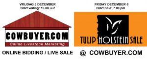 ONLINE bidding Tulip Sale via Cowbuyer.com